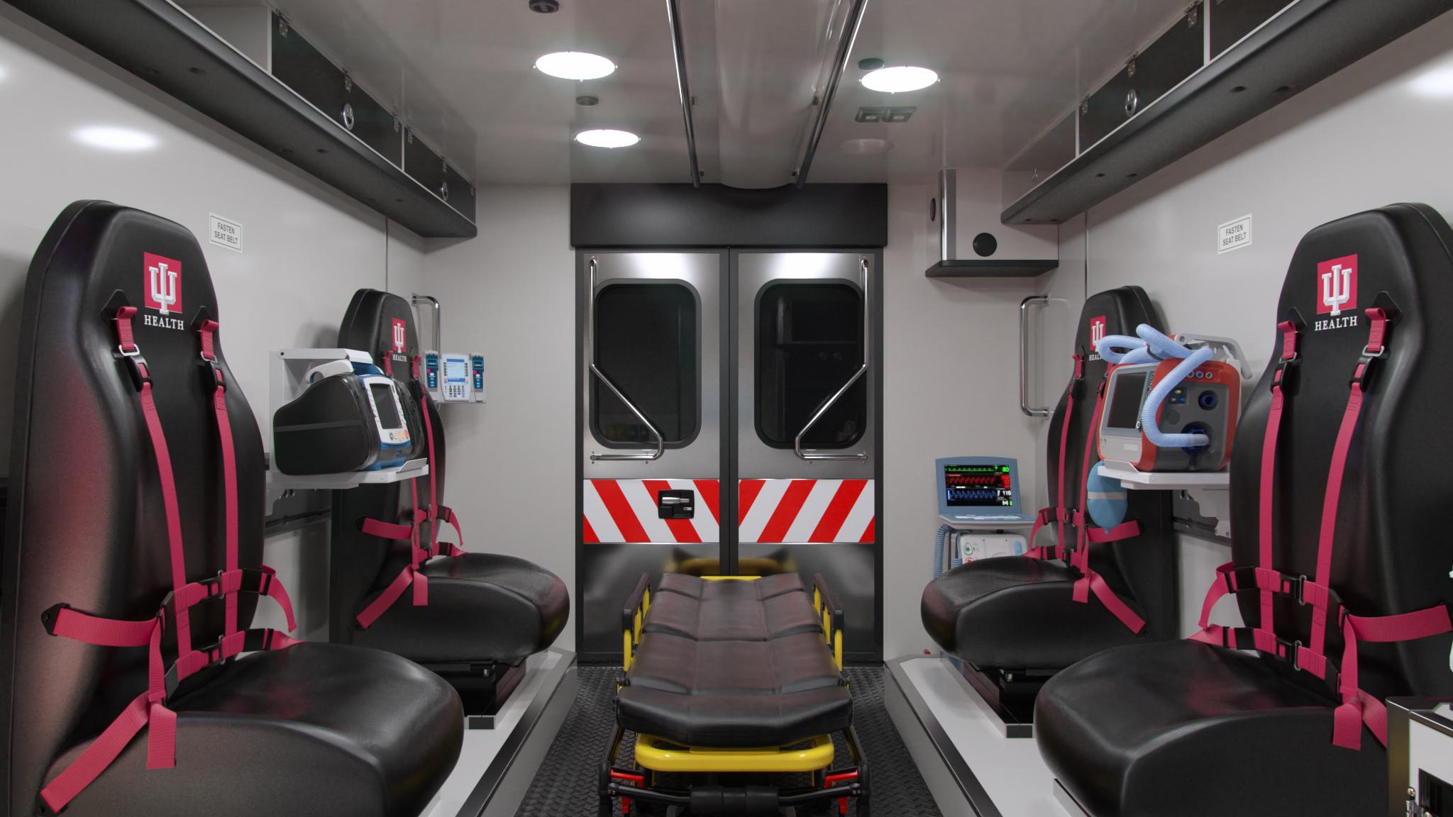IU Health LifeLine Ambulance