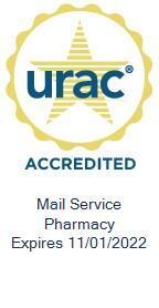 URAC Seal - Mail Service Pharmacy