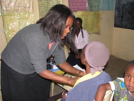 Doshandra Nelson, Kenya, 2012