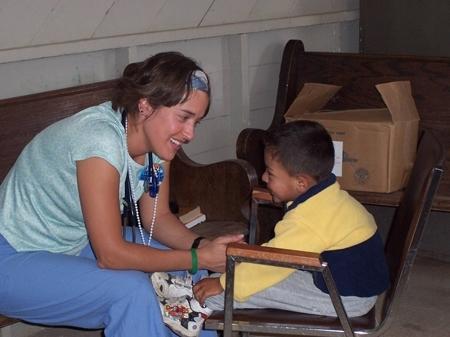 Kelly Givler Berman in Mexico, 2007