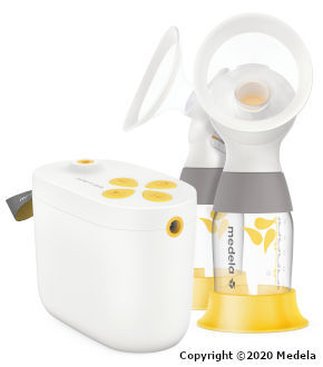 Medela Pump in Style with MaxFlow Breast Pumper Started Kit