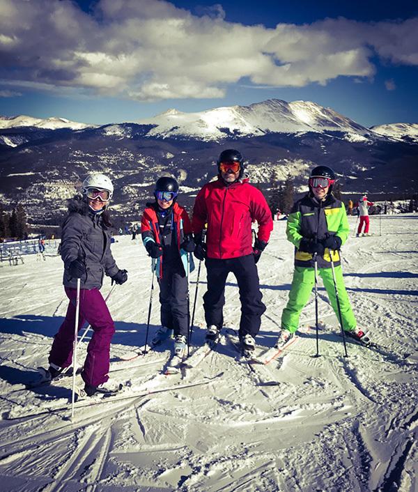 Roumpf skiing
