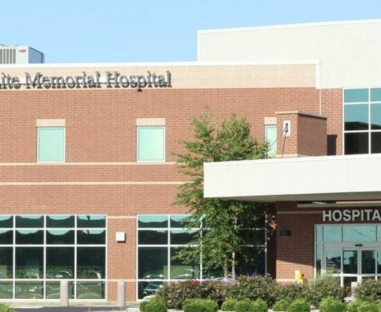 White Memorial Hospital Outside