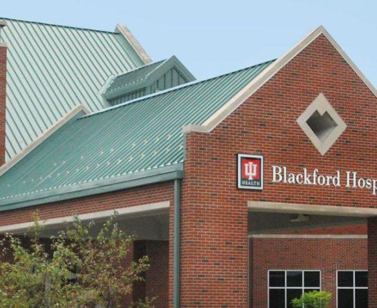 Blackford Hospital Outside