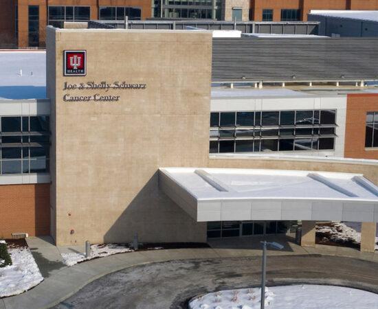 IU Health Schwarz Cancer Center Banner