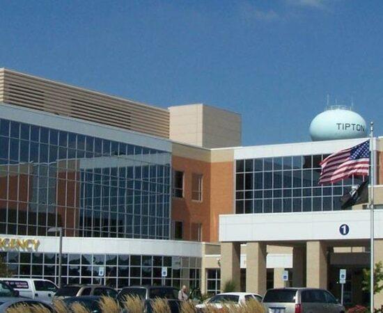 Tipton Hospital Outside