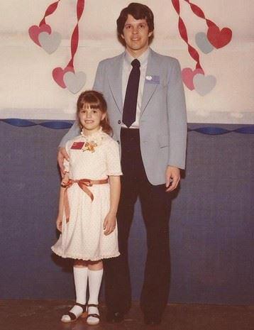 Dan Hunsinger with daughter