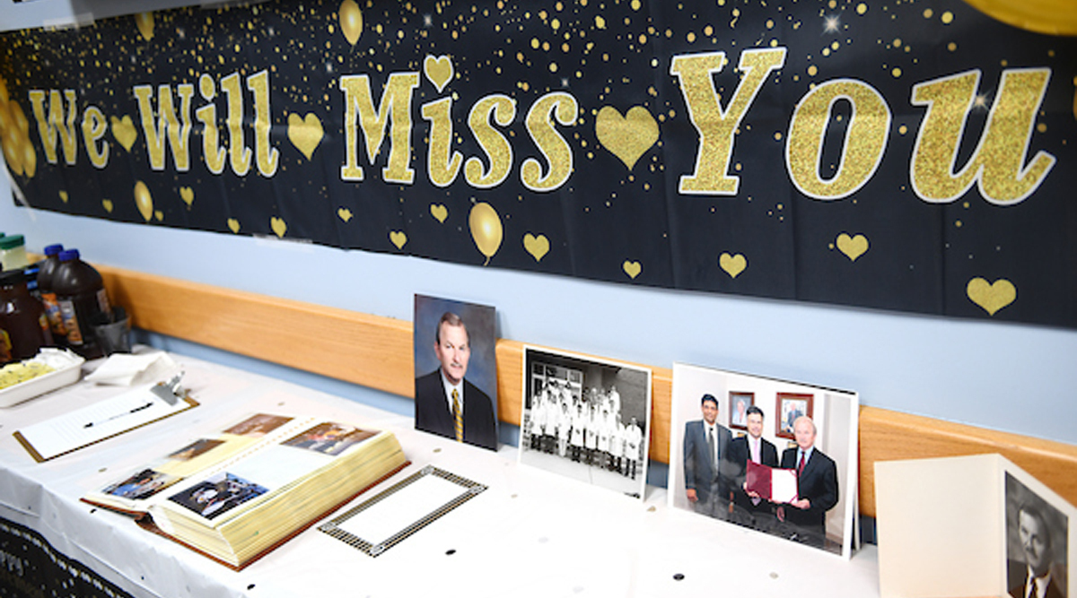 """""""We Will Miss You"""" part for Dr. Lehman"""