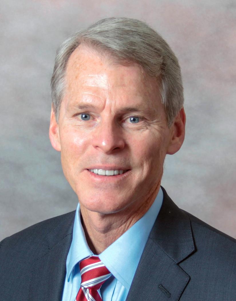 Daniel Neufelder, FACHE, president of Indiana University Health Arnett