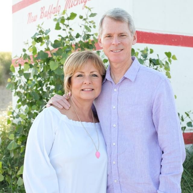 IU Health West Central Region President Dan Neufelder and his wife Jane