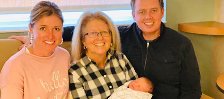 Chastain family photo