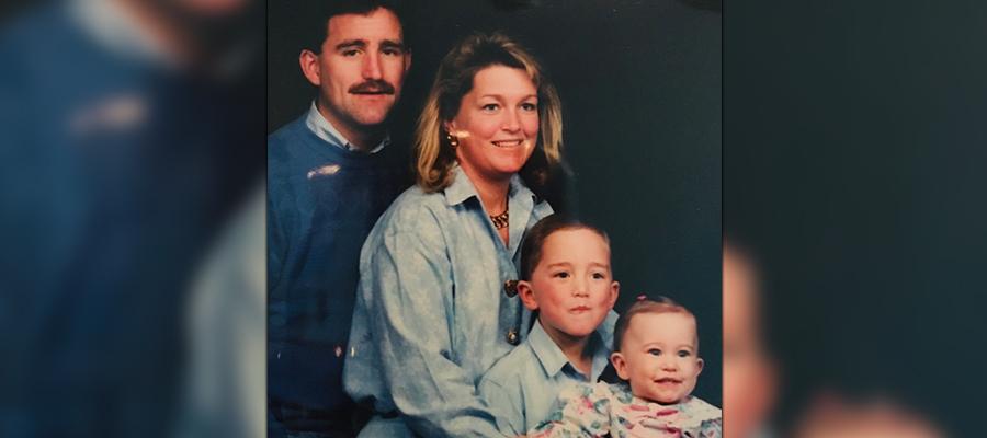 The Clausman family portrait