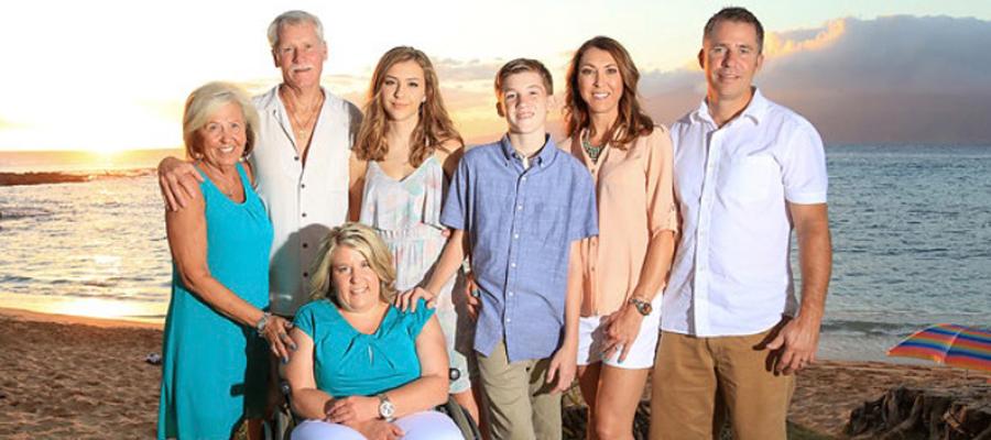Golding family photo