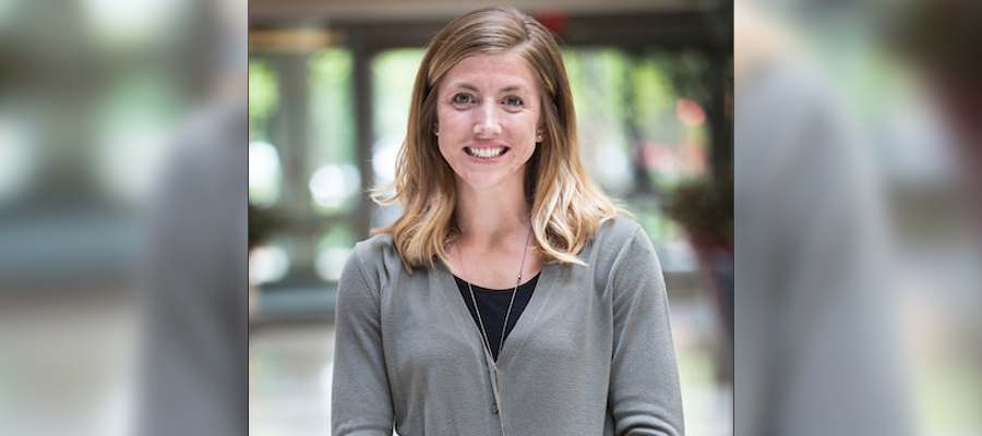 Katie Hake, a metabolic dietitian with the department of medical and molecular genetics at IU Health