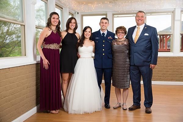 Huber family photo