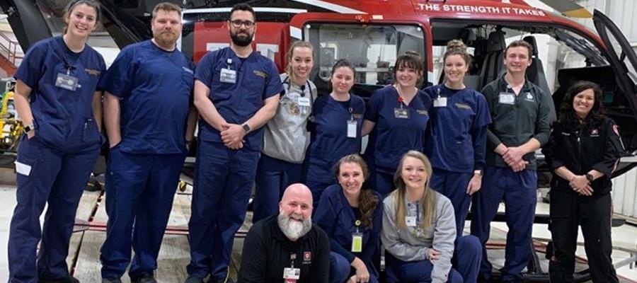 IU Health LifeLine team