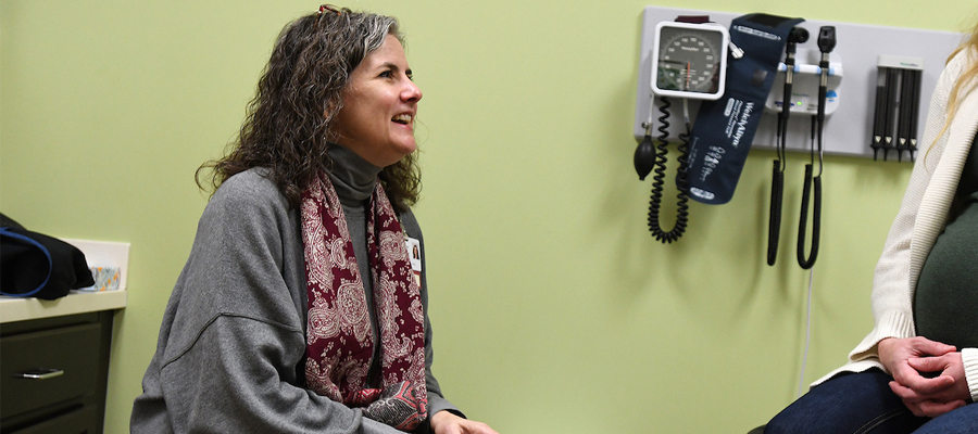 Darla Berry, midwife at IU Health