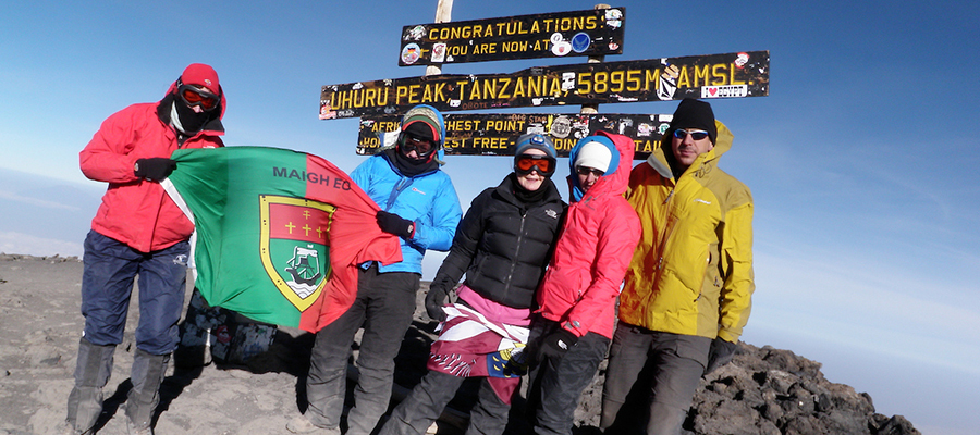 Misty and Jeremiah Johnson on Mount Kilimanjaro