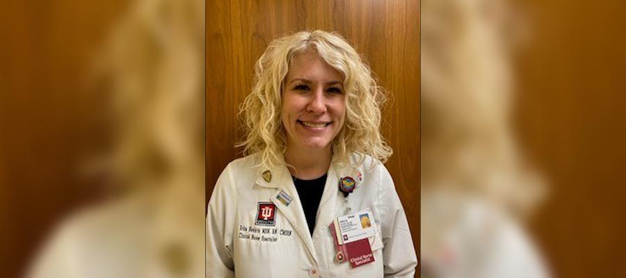 IU Health West's, Erica Newkirk