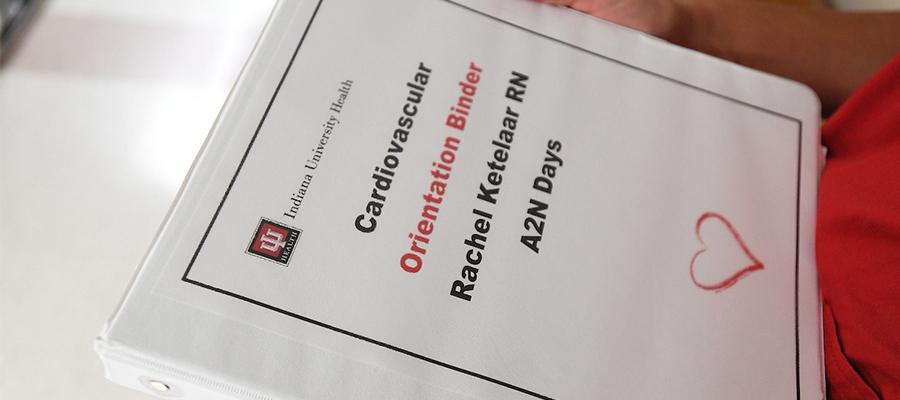 Cardiovascular Orientation Binder, Rachel Ketelaar RN