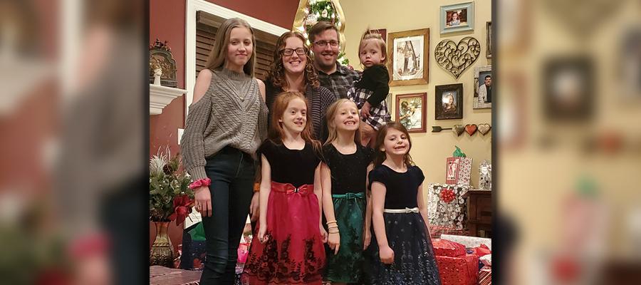 Rynearson and Cunningham family photo