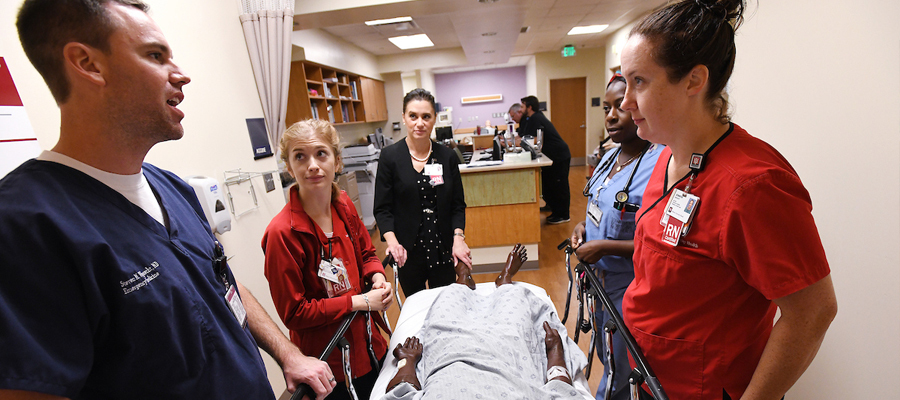 IU Health nurses and doctors gather to detect Sepsis