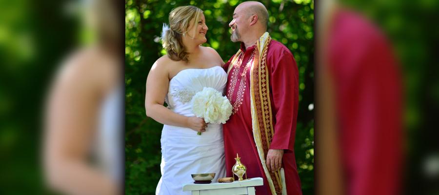 Staci and Donald wedding photo