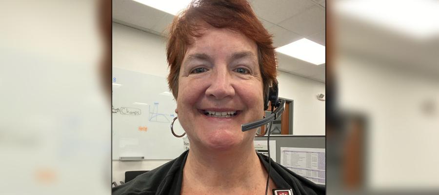 Susan Barney at the NICU