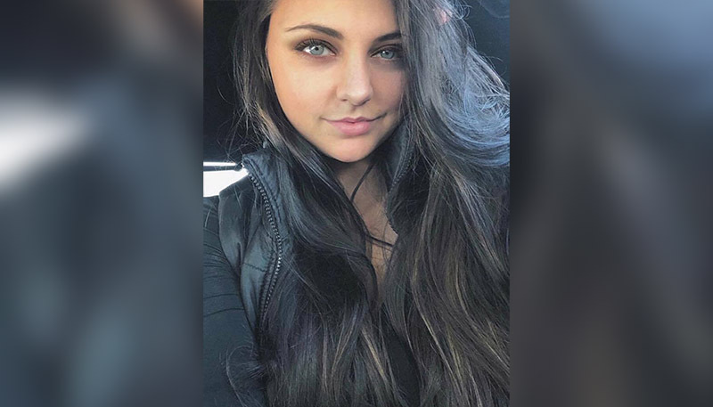 IU Health Arnett, Emily Burkhalter selfie