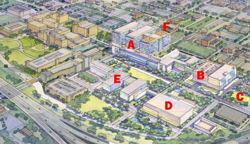 IU Health New Hospital renderings