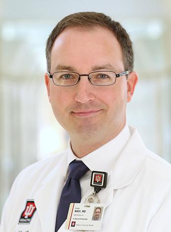 Ryan Nagy, MD, IU Health AHC President